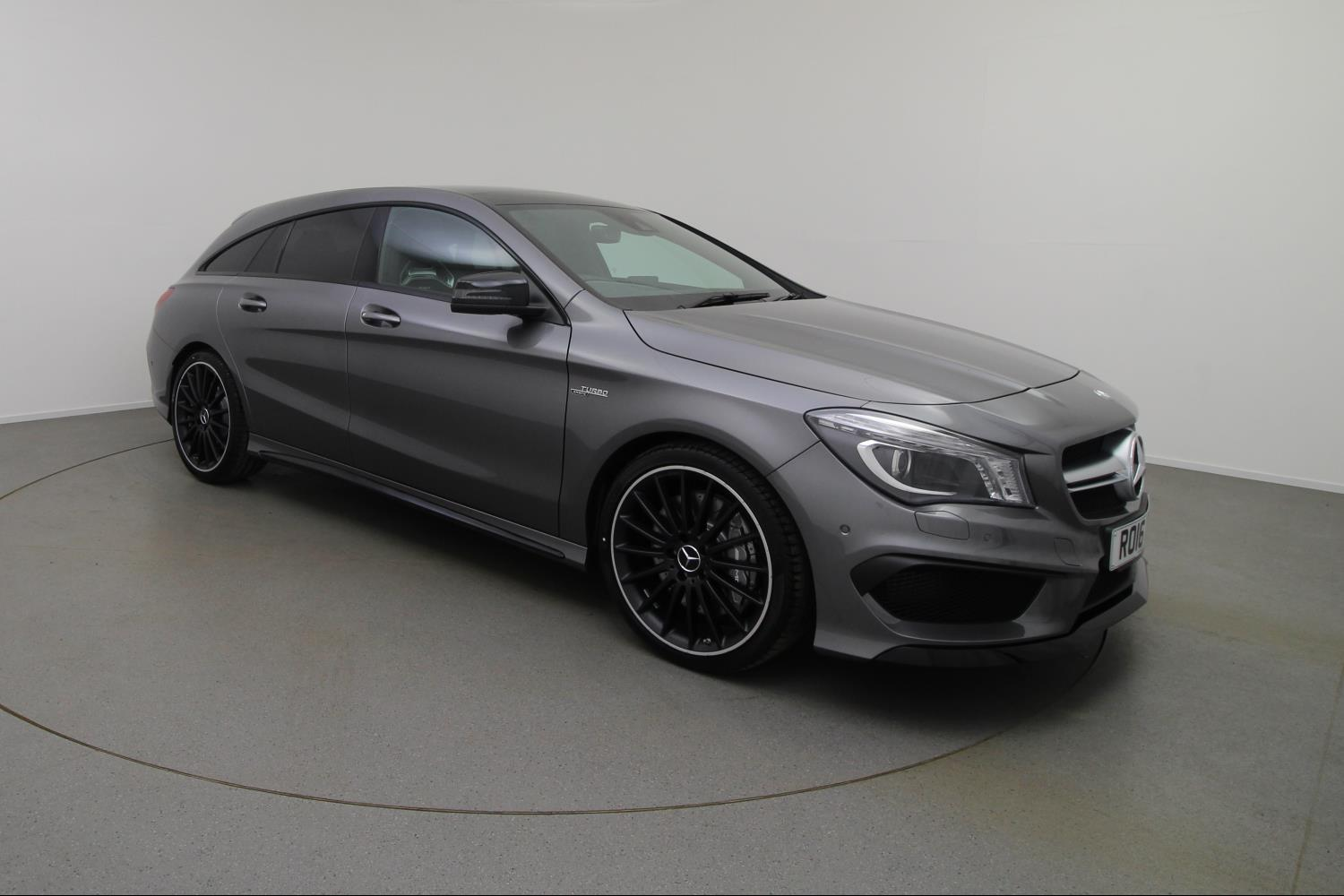 used mercedes amg cla cla 45 381 4matic 5dr tip auto petrol estate for sale vertu mercedes benz. Black Bedroom Furniture Sets. Home Design Ideas