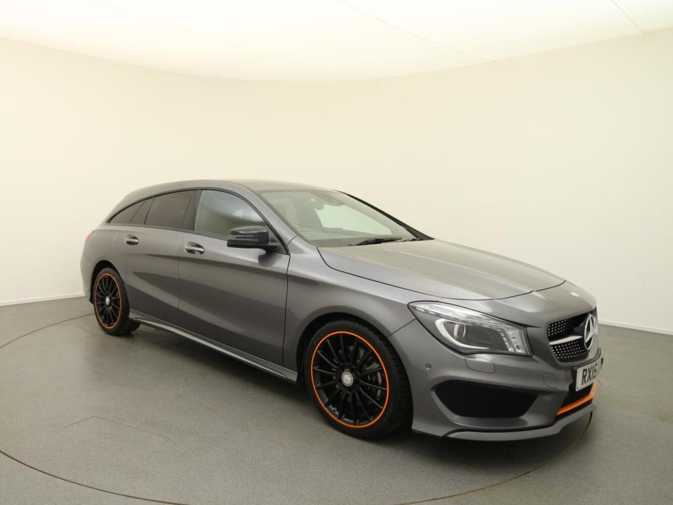 used mercedes benz cla cla 220 cdi orangeart 5dr tip auto diesel estate for sale vertu. Black Bedroom Furniture Sets. Home Design Ideas
