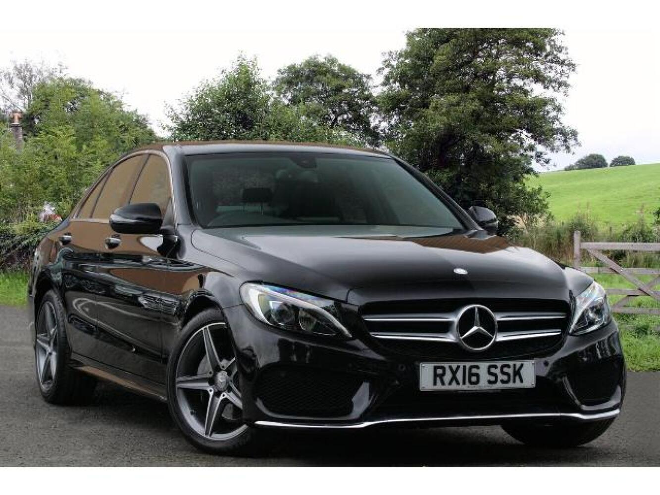 Used mercedes benz c class c200d amg line premium 4dr auto for Used mercedes benz diesel for sale