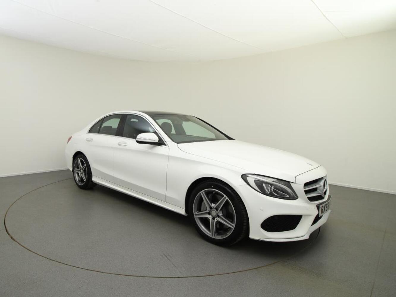 Used mercedes benz c class c300 bluetec hybrid amg line for Mercedes benz 300 amg