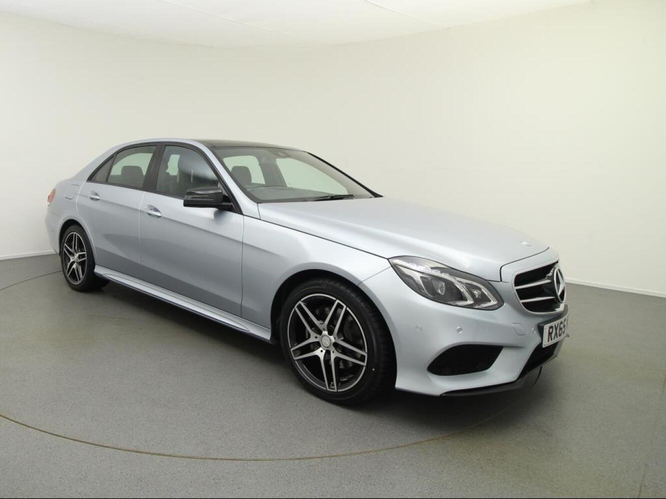 Used mercedes benz e class e220 bluetec amg night ed prem for Used mercedes benz diesel